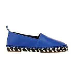 Proenza Schouler Leather Espadrille Slip On Shoes